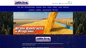 Ludlow Co-op Elevator Website