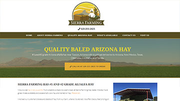Sierra Farming Website