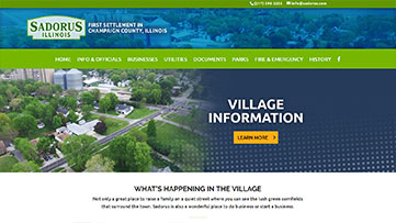 Village of Sadorus, IL Website